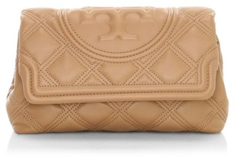 Tory Burch Fleming Leather Clutch