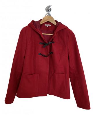 Les Petites Red Wool Coats