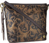 Tignanello As Is Vintage Leather Hobo Convert. Crossbody