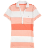 Tommy Hilfiger Final Sale- Y Neck Stripe Polo