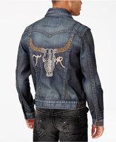 True Religion Men's Jummy Badlands Denim Jacket