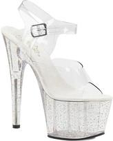 Pleaser USA Women's Adore 708MG Ankle-Strap Platform Sandal