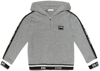Dolce & Gabbana Logo cotton track jacket