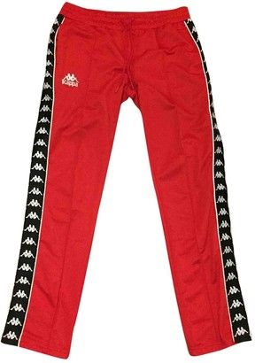Kappa Red Trousers for Women