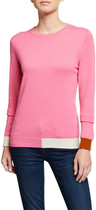 Chinti and Parker Cambridge Colorblocked Cashmere Sweater