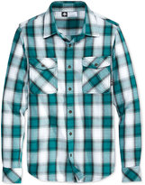 Lrg Men's Long-Sleeve Plaid Shirt