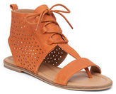 Lucky Brand Baari Perforated Leather Sandals