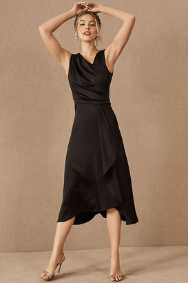 Anthropologie Alston Dress By in Black Size 12