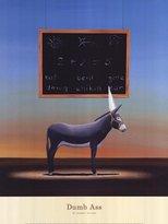 """Rob-ert Image Conscious Dumb Ass by Robert Deyber 18""""x21"""" Art Print Poster"""