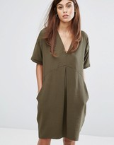 Whistles Josie V Neck Casual Dress
