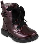 Naturino Express Girls' Casual boots BURGUNDY - Burgundy Buckle-Accent Mona Boot - Girls