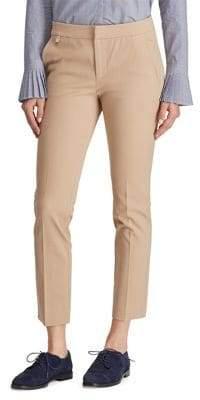Lauren Ralph Lauren Mid-Rise Twill Skinny Pants