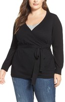 Melissa McCarthy Plus Size Women's Ballerina Wrap Sweater