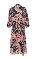 Apiece Apart Dunegrass Printed Silk and Cotton-Blend Shirtdress