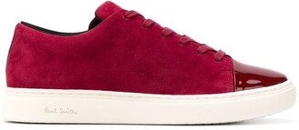 Paul Smith Patent Toe Low-Top Trainers