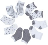niceEshop(TM) Unisex Children Soft Breathable Cotton Ankle Socks For 0-3 Years