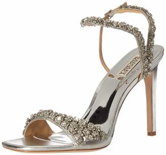 Badgley Mischka womens Galia Heeled Sandal