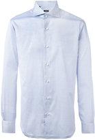 Barba pleated cuffs shirt - men - Cotton - 38