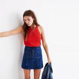 Madewell Zip Jean Skirt