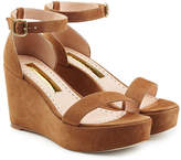 Rupert Sanderson Suede Platform Sandals