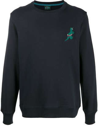 Paul Smith Dinosaur Patch Sweatshirt