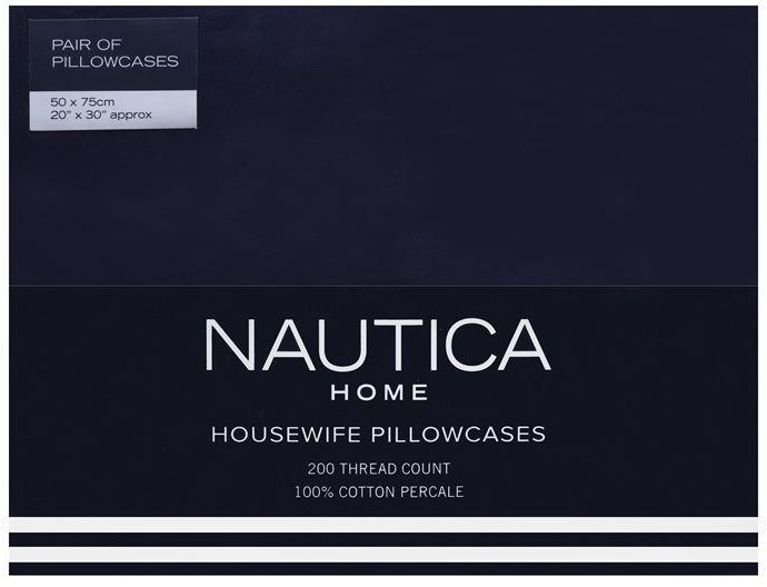 Nautica Housewife Pillowcases
