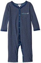 Splendid Littles Indigo Coverall with Stripes Boy's Overalls One Piece