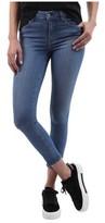 L'Agence Women's Margot High-Rise Crop Skinny Jean in Light Vintage