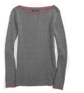 Tommy Hilfiger Cable Boatneck Sweater