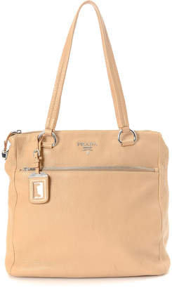 Prada Vitello Daino Shoulder Bag - Vintage