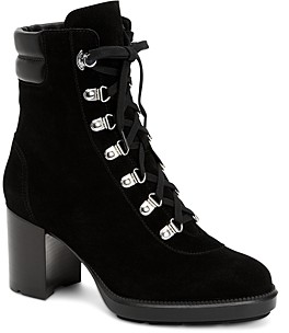 Aquatalia Women's Iriana Weatherproof Suede & Leather Boots
