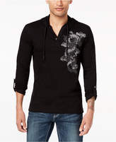 INC International Concepts I.N.C. Men's Embroidered Dragon Hoodie, Created for Macy's