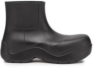 Bottega Veneta Chunky Ankle Rainboots