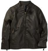 Urban Republic Faux Leather Jacket (Toddler Boys)