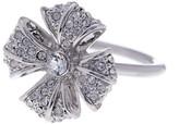 Ted Baker Reann Rosette Pave Crystal Ring