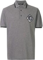 Dolce & Gabbana logo patch polo shirt