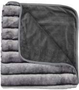 Juste Clé Muiti Grey Fur Blanket