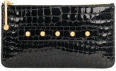 RED Valentino textured clutch bag