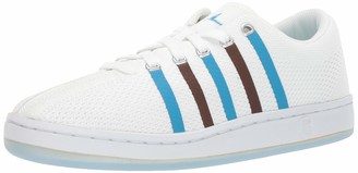 K-Swiss Men's Classic 88 Knit Clouds and Dirt Sneaker