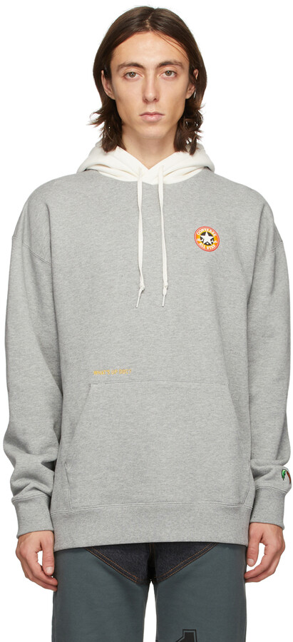 Thumbnail for your product : Converse Grey Bugs Bunny Edition 80th Anniversary Pull-Over Hoodie