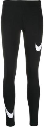 Nike Leg-A-See swoosh leggings