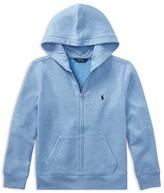Ralph Lauren Boys' Zip-Up Fleece Hoodie - Big Kid