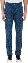 Barneys New York MEN'S FLORAL STRETCH-COTTON PANTS