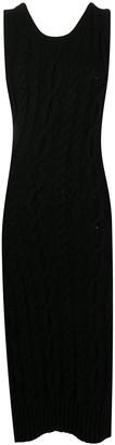 Telfar Cable Knit Dress