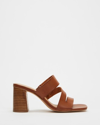 Spurr Women's Brown Heeled Sandals - Braithe Heels - Size 5 at The Iconic