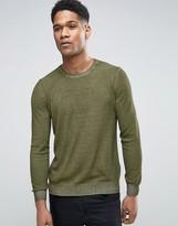Sisley Sweater In Oil Wash