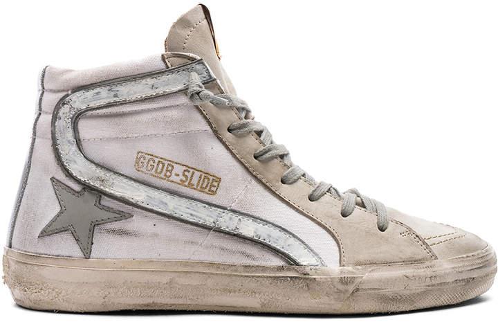 Golden Goose Canvas Slide Sneakers