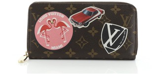 Louis Vuitton Zippy Wallet Limited Edition World Tour Monogram Canvas