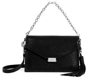 AllSaints Miki Leather Crossbody Bag