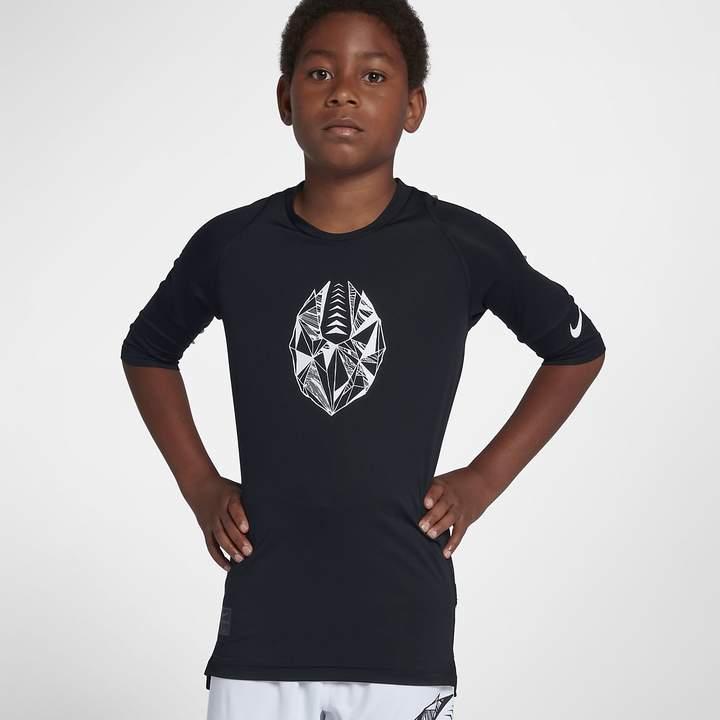 671e55eaae Big Kids' (Boys') Fitted Half Sleeve Soccer Top Pro